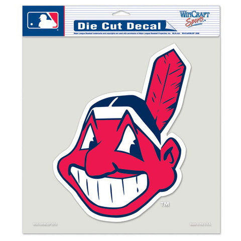 Cleveland Indians Full Color Car Window Sticker Decal 8x8 Inches