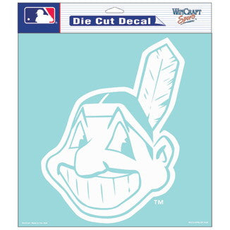 Cleveland Indians Car Window Sticker Decal 8x8 Inches