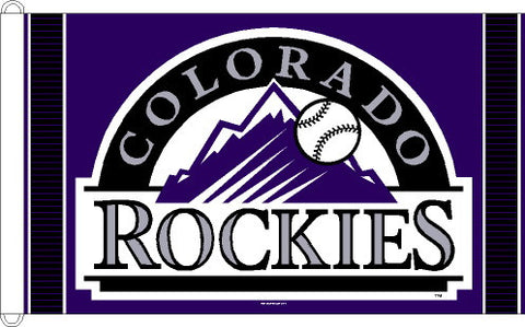 Colorado Rockies 3x5 Foot Flag