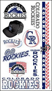 Colorado Rockies Temporary Tattoo