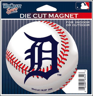 MLB Detroit Tigers Die Cut Magnet