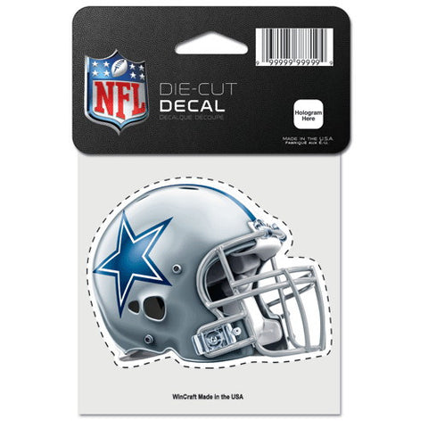 Dallas Cowboys Full Color Car Window Sticker Decal 4x4 Inches