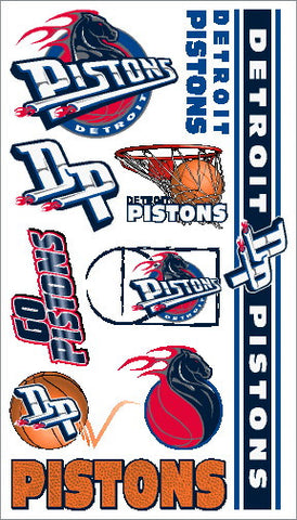 Detroit Pistons Temporary Tattoo