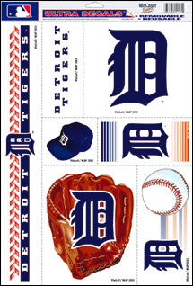 Detroit Tigers Decals Window Clings