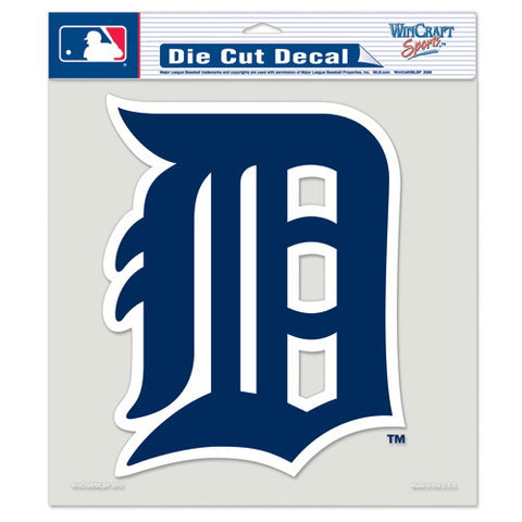 Detroit Tigers Full Color Car Window Sticker Decal 8x8 Inches