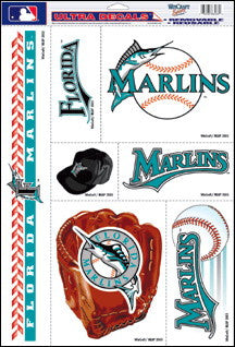 Miami Marlins Decals Window Clings