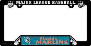 Miami Marlins License Plate Frame (2-Pack)