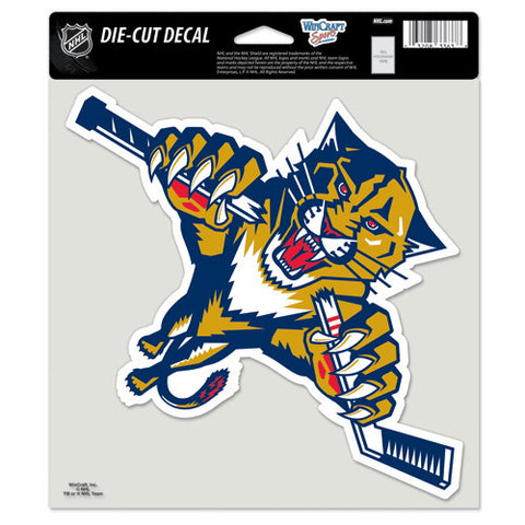 Florida Panthers Full Color Car Window Sticker Decal 8x8 Inches