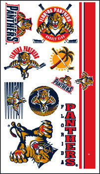 Florida Panthers Temporary Tattoo