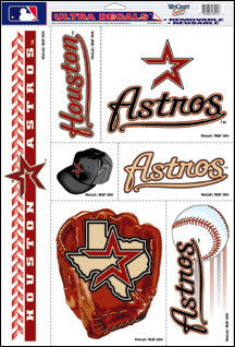 Houston Astros Decals Window Clings
