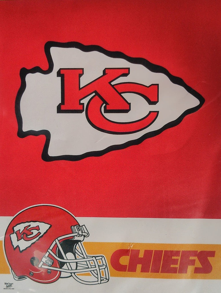 Kansas City Chiefs Vertical Flag Banner