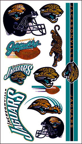 Jacksonville Jaguars Temporary Tattoo