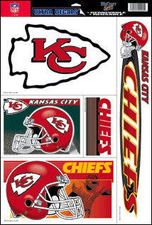 Kansas City Chiefs Decals Window Clings
