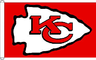 Kansas City Chiefs Flag 3x5 Foot
