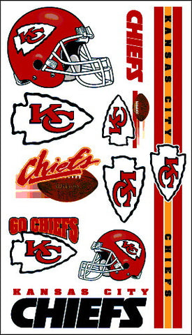 Kansas City Chiefs Temporary Tattoo