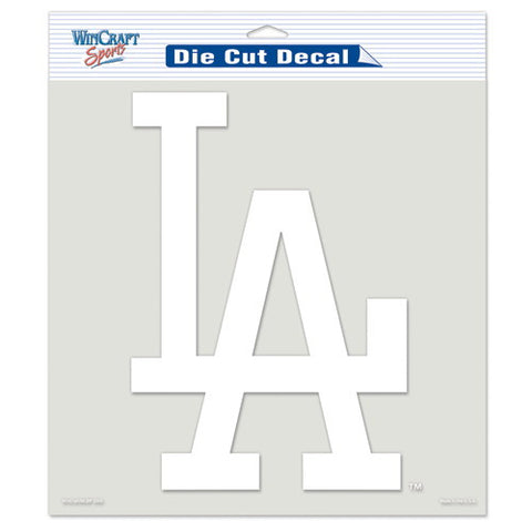 Los Angeles Dodgers Car Window Sticker Decal 8x8 Inches