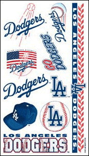 Los Angeles Dodgers Temporary Tattoo
