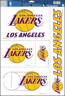 Los Angeles Lakers Decals Window Clings
