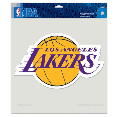 Los Angeles Lakers Full Color Car Window Sticker Decal 8x8 Inches