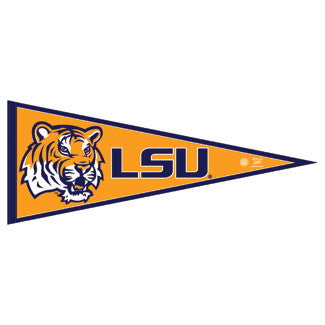 Louisiana State Tigers Pennant NCAA