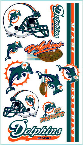 Miami Dolphins Temporary Tattoo
