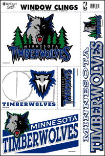 Minnesota Timberwolves Decals Window Clings