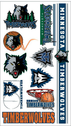 Minnesota Timberwolves Temporary Tattoo