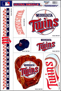 Minnesota Twins Decals Window Clings