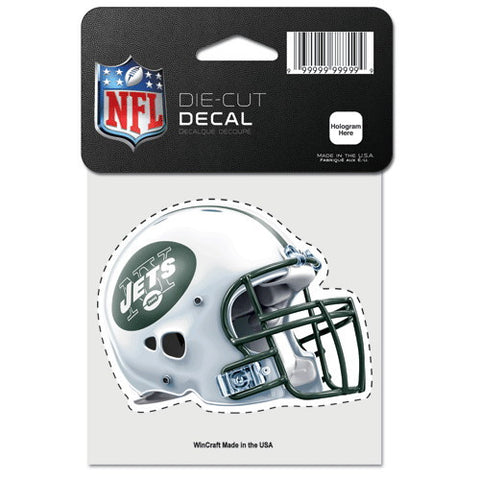 New York Jets Full Color Car Window Sticker Decal 4x4 Inches