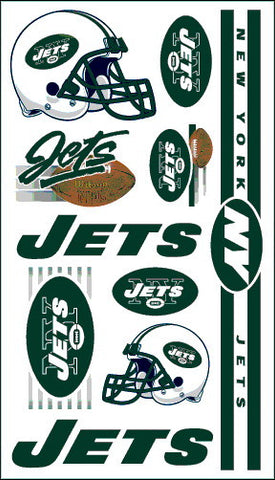New York Jets Temporary Tattoo