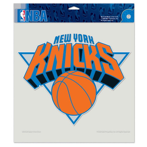 New York Knicks Full Color Car Window Sticker Decal 8x8 Inches