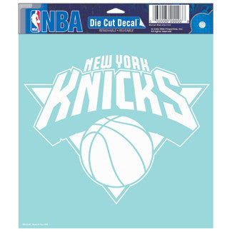 New York Knicks Car Window Sticker Decal 8x8 Inches