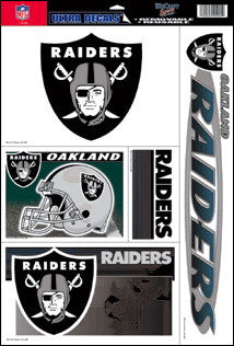 Oakland Raiders Decals Window Clings