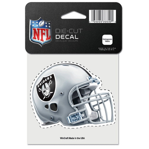 Oakland Raiders Full Color Car Window Sticker Decal 4x4 Inches