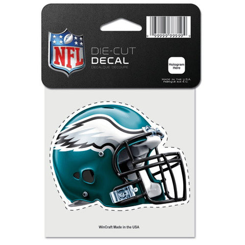 Philadelphia Eagles Full Color Car Window Sticker Decal 4x4 Inches