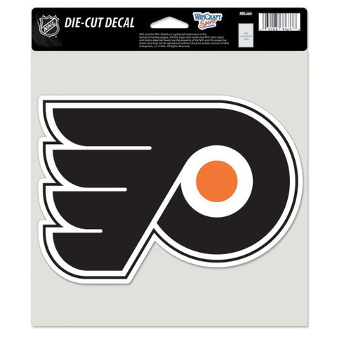Philadelphia Flyers Full Color Car Window Sticker Decal 8x8 Inches