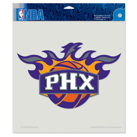 Phoenix Suns Full Color Car Window Sticker Decal 8x8 Inches