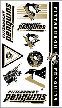 Pittsburgh Penguins Temporary Tattoo