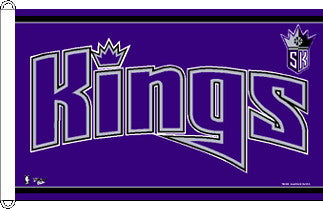 Sacramento Kings Flag 3x5 Foot