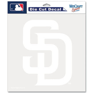 San Diego Padres Car Window Sticker Decal 8x8 Inches