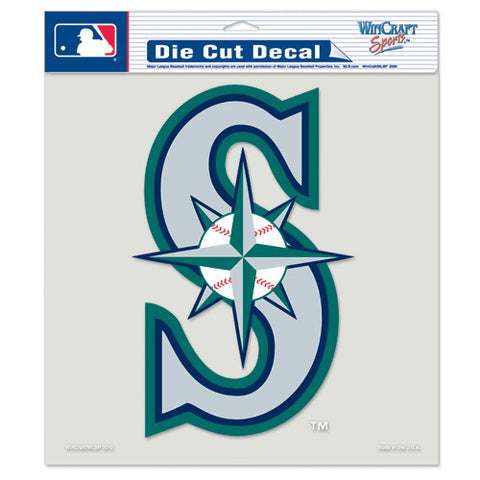 Seattle Mariners Full Color Car Window Sticker Decal 8x8 Inches