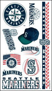 Seattle Mariners Temporary Tattoo