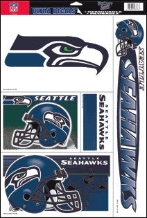 Seattle Seahawks Decals Window Clings
