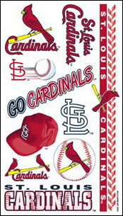 St. Louis Cardinals Temporary Tattoo