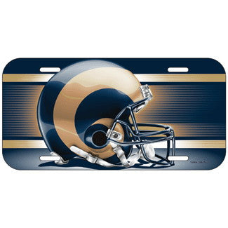 St. Louis Rams License Plate