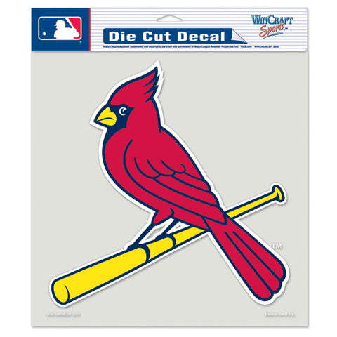 St. Louis Cardinals Full Color Car Window Sticker Decal 8x8 Inches