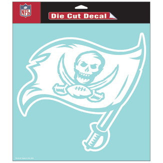 Tampa Bay Buccaneers Car Window Sticker Decal 8x8 Inches
