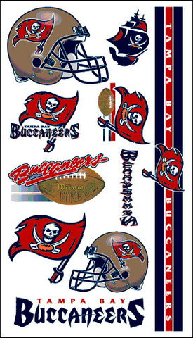 Tampa Bay Buccaneers Temporary Tattoo