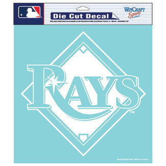 Tampa Bay Rays Car Window Sticker Decal 8x8 Inches
