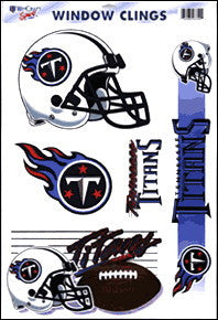Tennessee Titans Decals Window Clings